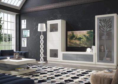 mueble-salon-aparador-mesa-lacado-blanco-azul-coim-1024x675
